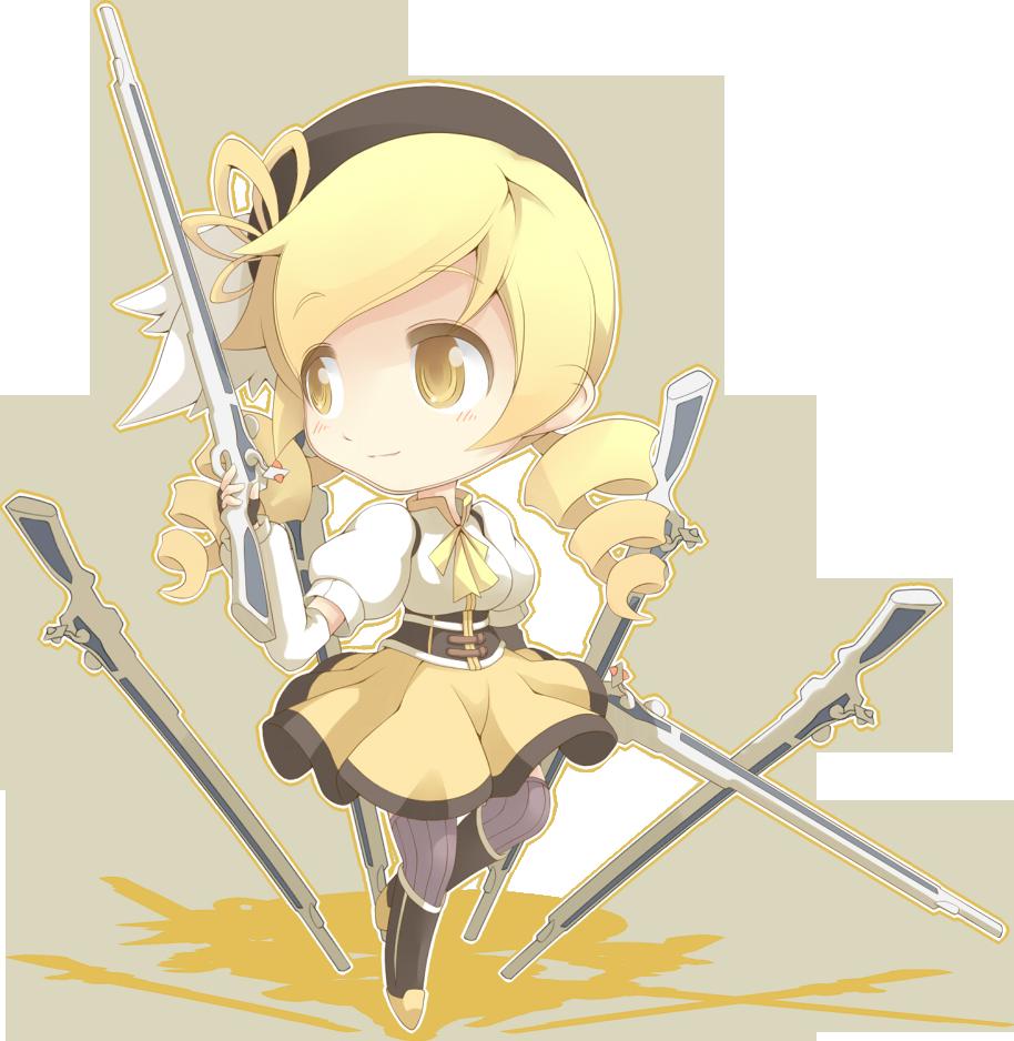【s抠图素材】魔法少女小圆系列萌妹子png素材~可用于头像或签名【174
