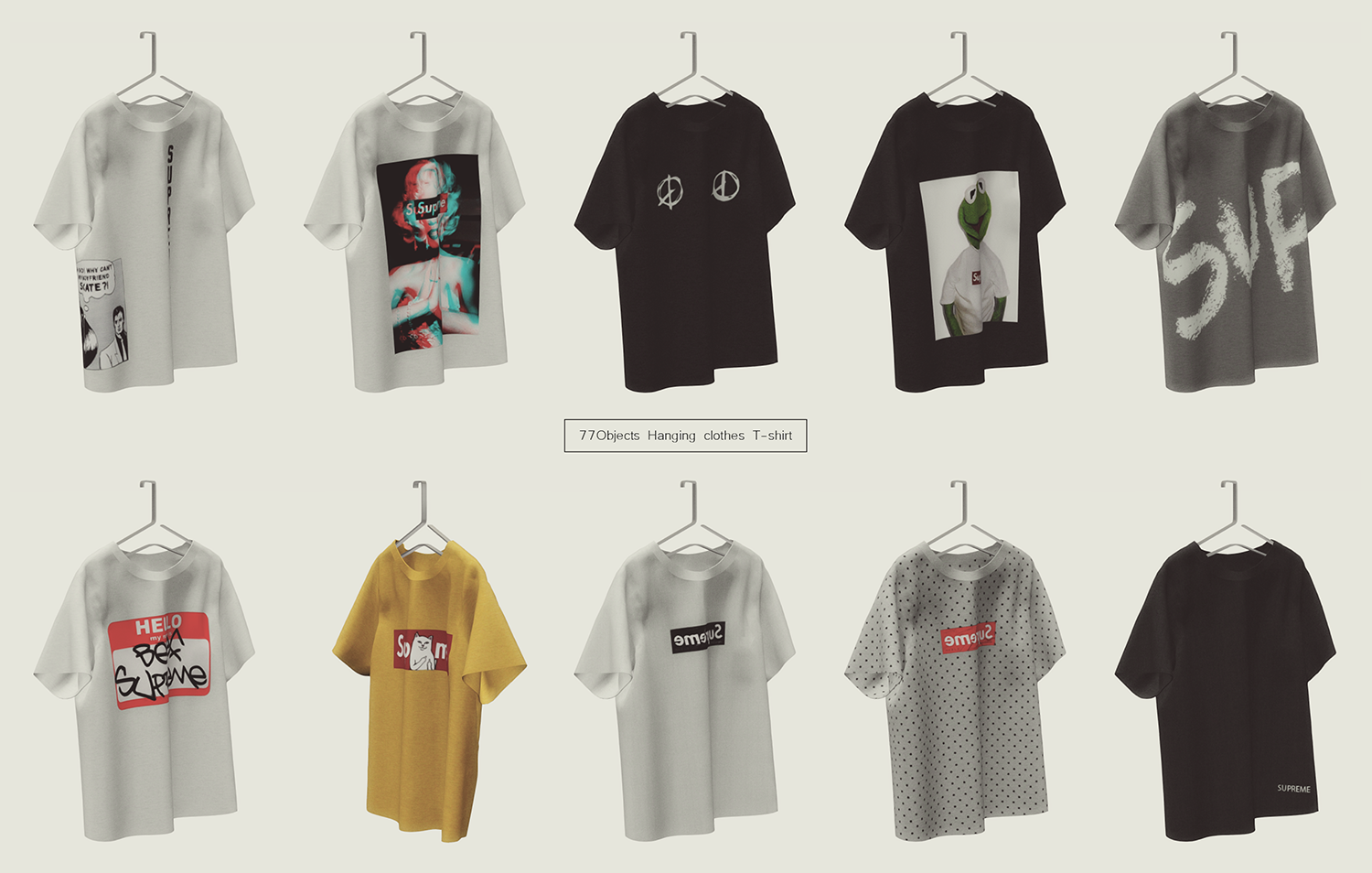 77Objects - Hanging clothes _T-shirt.png